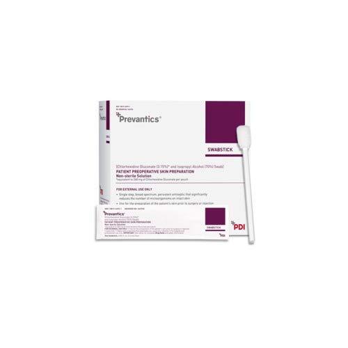 PDI Professional Disposables S40750 Prevantics Swabstick 1's 1.6mL 50/Bx