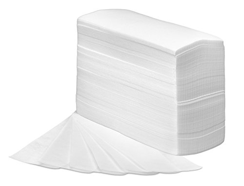 (Tifara Beauty Non Woven Large 3 x 9 Body and Facial Wax Strips, Pack of 250)
