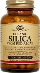 Solgar, silice Oceanic, 100 capsules végétales-Osteoporose