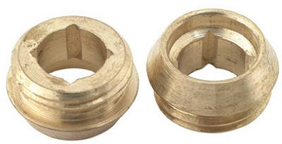 Brass Craft Service Parts SCB1312 Price Pfister 10-Pack 21/32-Inch x 18 Thread Brass Seat