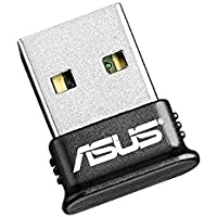 ASUS USB Adapter w/Bluetooth Dongle Receiver Transfer Wireless for Laptop PC Support Windows 10 Plug and Play /8/7/XP, Printers, Phones, Headsets, Speakers, Keyboards, Controllers (USB-BT400)