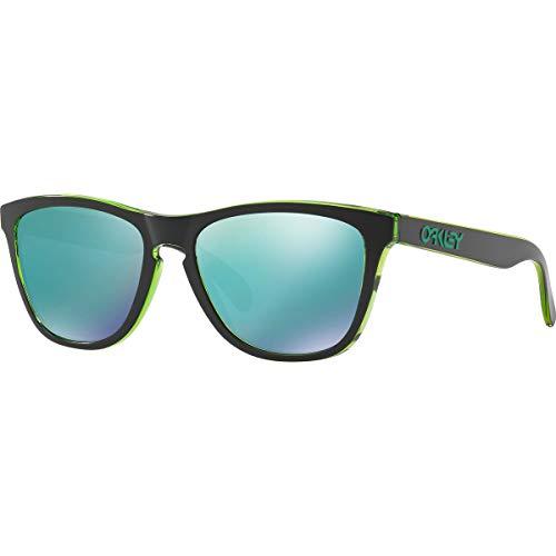 Oakley Men's Frogskins Non-Polarized Iridium Square Sunglasses, ECLIPSE GREEN, 55 ()