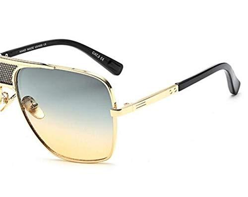 en soleil conduite voyager soleil de de Golden Lunettes métal Cool extérieure Huyizhi cadre mode la de de lunettes UV400 de protectrices ztB7nqwxTH