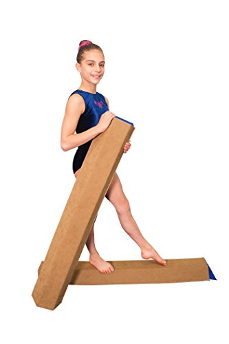 amazoncom tumbl trak sb1002pk sectional floor balance beam 2 pack sports u0026 outdoors
