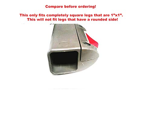 Coleman 10×10 12×12 Instant Sun Shelter Canopy Swingwall-LOWER Leg Slider Replacement Parts
