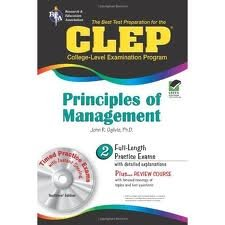 CLEP Principles of Management w/ CD-ROM (REA) - The Best Test Prep for (CLEP Test Preparation)