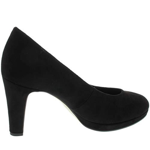 Chaussures noires talons à pour Fashion femmes Gabor 47 noir FIqtw5Et