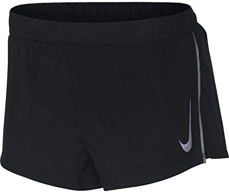 perdonado Nombre provisional abeja  Nike Men's Fast Short, Black/Gunsmoke, M: Amazon.co.uk: Clothing