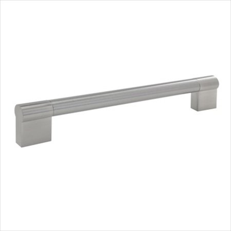 Richelieu Contemporary Stainless Steel and Steel Handle Pull - BP527224195 - Brushed Nickel _NEW