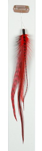 """Lord and Cliff 6"""" Clip-In Feather Princess Hair Extension..."""