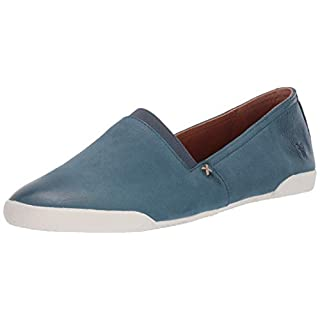 Frye Women's Melanie Slip On Sneaker, Sea Blue, 9.5 Medium US