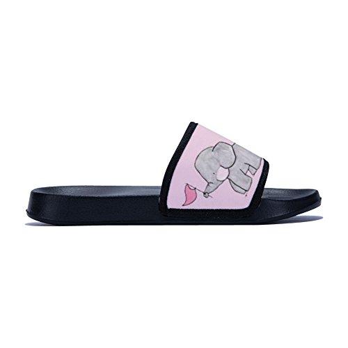 Mujer para Buteri Rápido Negro Secado Zapatillas Antideslizantes de de XXqYwB