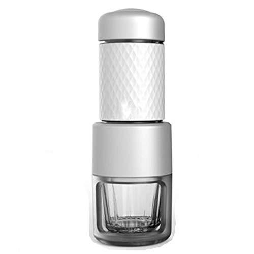 Bishelle Small Travel Coffee Maker Mini Hand-Pressed Capsule Coffee Maker Coffee Appliance Portable Capsule Coffee…