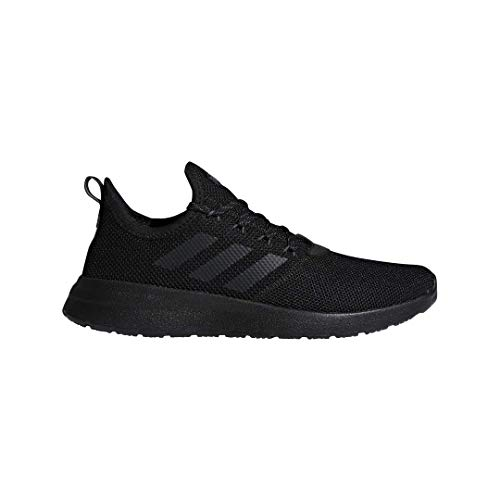 adidas Men's Lite Racer Reborn Running Shoe, Black/Black/Grey, 11 M US