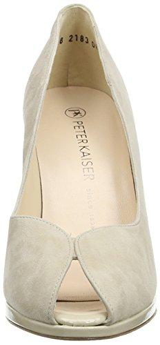 Peter KaiserEDITA - Zapatos de Punta Descubierta Mujer Beige - Beige (SAND SUEDE LANA  CRAKLE 232)