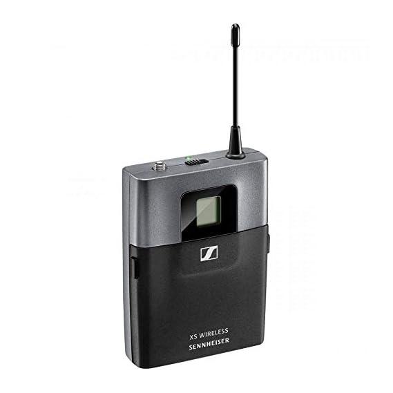 Sennheiser XSW 2-ME3-A Wireless Cardiod Headset Microphone set with External Antenna(True Diversity) for Singers