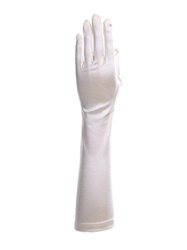 光沢予測子オセアニアサテンミディアムグローブ Sサイズ 日本製 約40cm ブライダル ウェディング 花嫁 結婚式