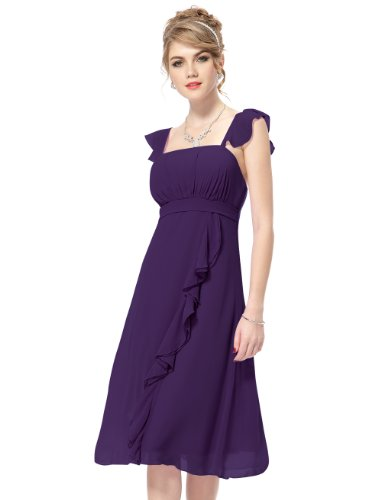 HE03337PP12 Purple 10US Ever Pretty Summer Dresses For Women 03337