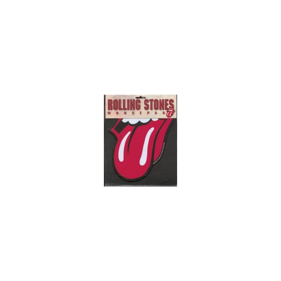 Rolling Stones Red Tongue Mousepad
