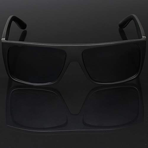 e76d3b5767 LOCS Super Flat Top Original Gangsta Shades Hardcore Sunglasses - Matte  Black