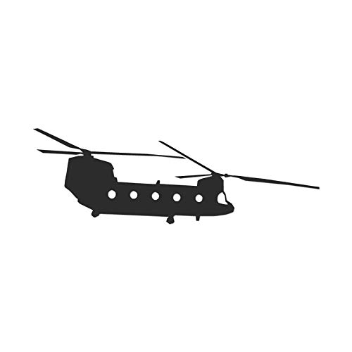 Chinook Helicopter Military - Vinyl Decal Sticker - 9