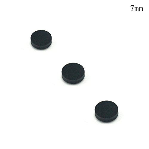 3pcs Filter Lens against 400-750nm / Pass 808-1064nm IR Laser Module (7mm)