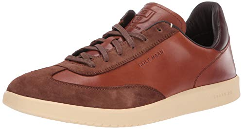 Cole Haan Men's Grandpro Turf Sneaker Tumbled/British tan Suede, 14 M US