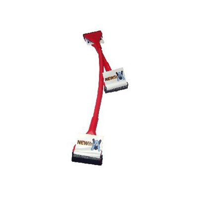 Aptii Rounded Floppy Drive FDD Data Cable 48cm Red