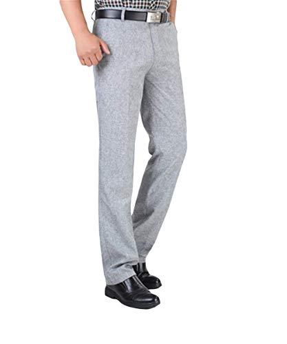 Pour Costume Et Pantalones Léger Trabajo Vrac Hommes Classique En Formal Pantalon Décontracté Oficina De qCWpa4atB