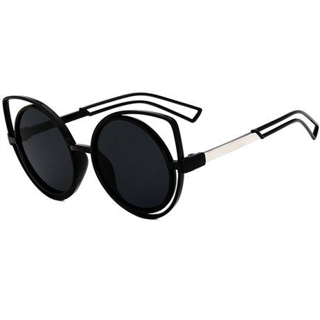 nbsp;moda Gafas De Mujer Mujer Gafas sol doble de Vintage nbsp;Mujer Diseñador sol de Espejo Lentes de Gafas marca Gris de de GGSSYY Gray haz de la sol Sol nIwxUR6x