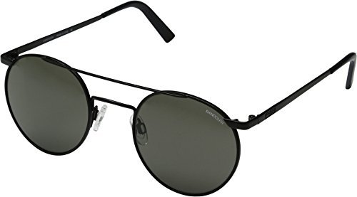 e0c5163bd01 Randolph Engineering P3 Shadow Sunglasses in Matte Black Grey PBP2411 49  Grey Matte Black  Amazon.co.uk  Clothing