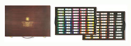 Mungyo Gallery Handmade Soft Pastel Wood Box Set of 100 - Landscape Colors