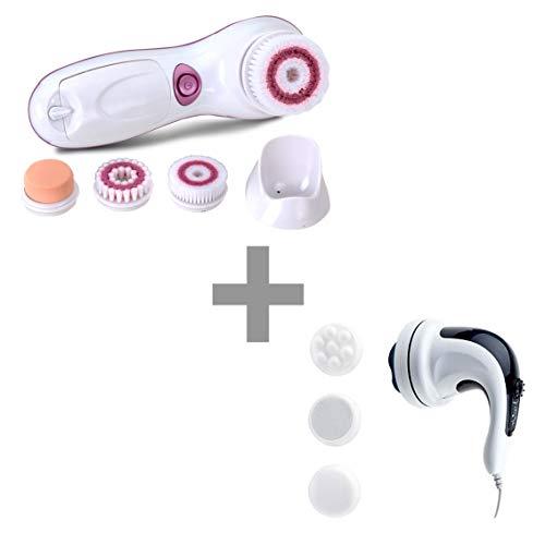 Kit Massageador Facial Clean Pro + Orbit Massage 220V | Relaxmedic