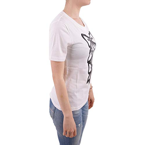 T Moschino Algodon A120411402002 Blanco Mujer shirt Boutique 4a681WXa