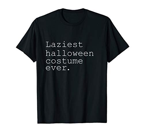 Laziest Halloween Costumes (Laziest Halloween Costume Ever Funny Novelty Holiday)