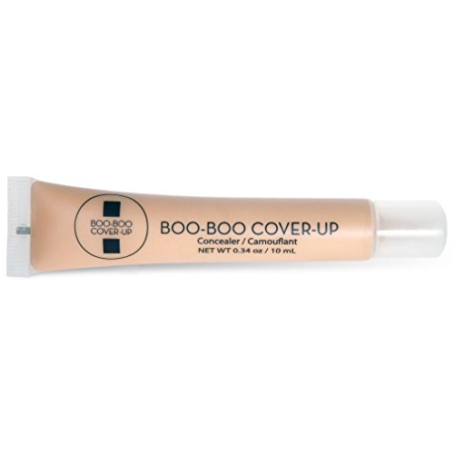 Boo-Boo Cover-Up Concealer, Medium, 0.34 Ounce (Best Body Makeup For Scars)