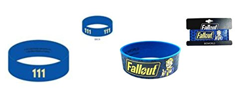 Fallout 111 and Fallout Vault Boy Wrist band set