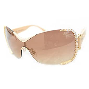 Chopard - SCHA65S, Other, rimless, women, GOLD/BROWN GOLD MIRROR SHADED(300X N), 99/0/125