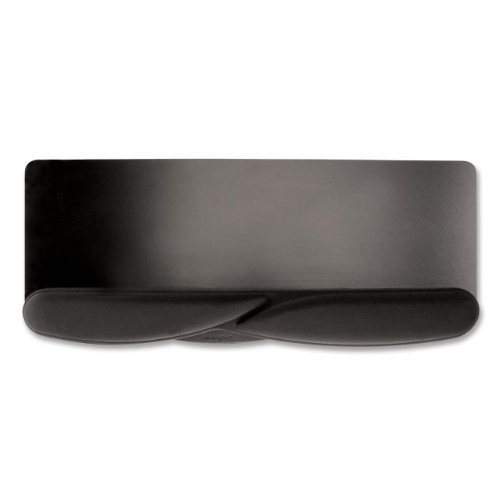 Kensington Wrist Pillow Extended Platform, Keyboard and Mousepad Wrist Rest in Black (L36822US)