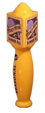 Blue Moon Honey Moon Summer Ale Ceramic Brewery Beer Tap Handle 9 1/2