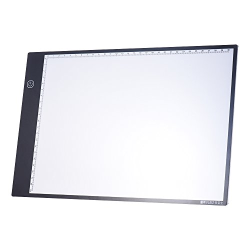 - Aibecy Portable A4 LED Light Box Drawing Tracing Tracer Copy Board Table Pad Panel Copyboard with 3-mode Brightness Black Edge Scale for Artist Animation Sketching Architecture Calligraphy Stenciling