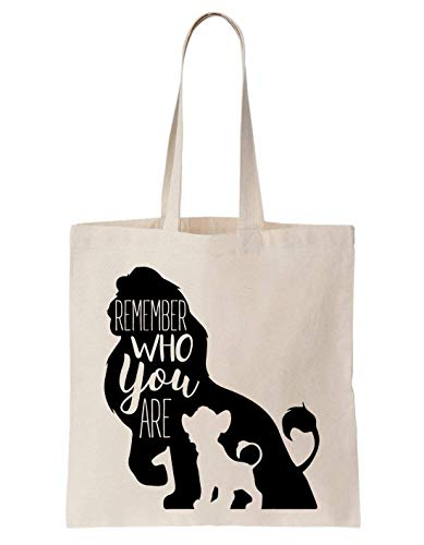 Totebag Sac Are Who Coton Remember En You Pastomka Lion fw8qn4nv