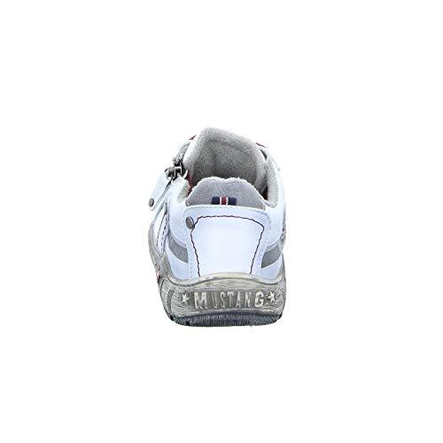 203 de Cordones Mujer Mustang con Zapatos Sintético Ice TaqwxzYO