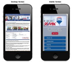 Mobile Website Basic Demo Layout ()
