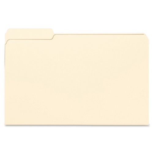 hot sale 2017 Smead File Folder, 1/3- Cut Tab Left Position, Legal Size, Manila, 100 Per Box (15331)