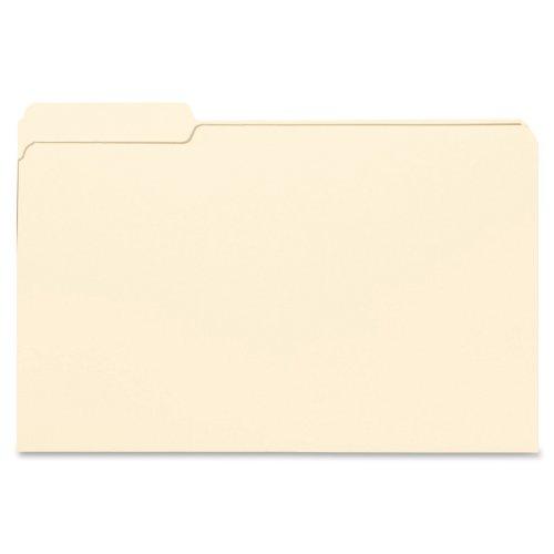 Smead File Folder, 1/3- Cut Tab Left Position, Legal Size, Manila, 100 Per Box (15331)