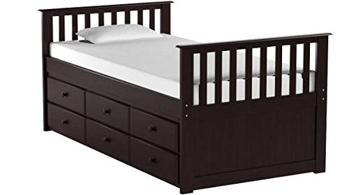 Broyhill Kids Marco Island Captain's Trundle Bed and Drawers, Twin