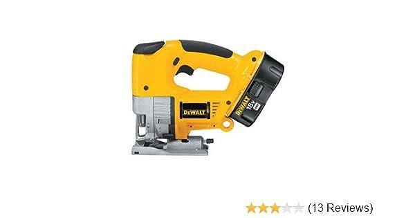 Dewalt dw933k 18 volt variable speed jig saw kit power jig saws dewalt dw933k 18 volt variable speed jig saw kit power jig saws amazon greentooth Image collections