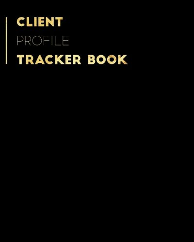 Style Business Card Files Refill - Client Profile Tracker Book: Black Customer Appointment Management System | Log Book, Information Keeper, Record & Organise | For Salons, Nail ... Beauticians & More (Organization) (Volume 9)