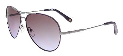 LACOSTE Sunglasses L174S 035 GREY Aviator 58x12x135
